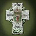 Large Resin Celtic Cross Plaque