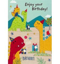 Happy Birthday Dinosaurs
