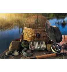 Fishing birthday card