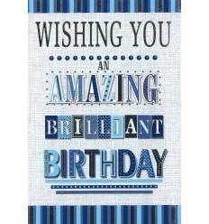 Amazing brilliant birthday