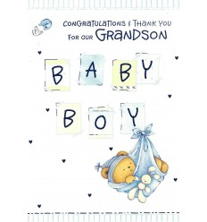 Birth of our Grandson
