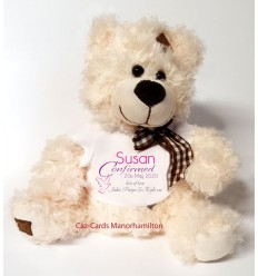 CONFIRMATION Teddy Bear Personalised