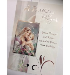 Birthday Prayer Card