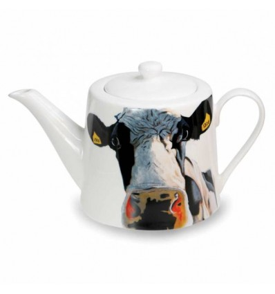 Cow Teapot from Tipperary Crystal