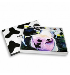 Set of 6 Cow Placemats from Tipperary Crystal