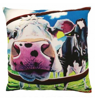 Cow Cushion - Breaking Boundaries
