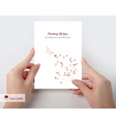 Thinking Of You Personalised Card