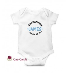2020 Quarantine Babygrow Personalised