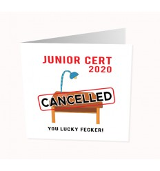 CORONAVIRUS  -  JUNIOR CERT LUCKY FECKER