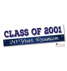 Reunion Banner - Personalise with your wording