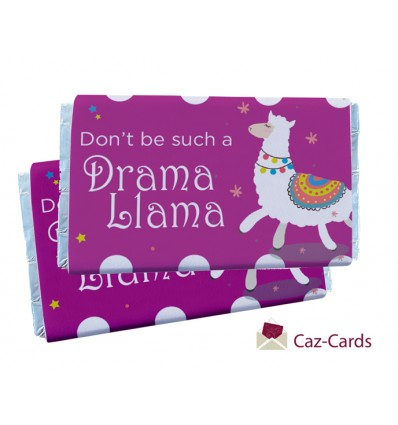 DRAMA LLAMA CHOCOLATE BARS