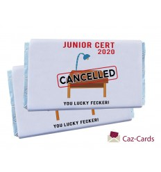 JUNIOR CERT CANCELLED CHOCOLATE BARS