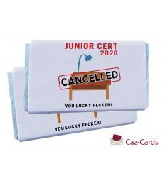 JUNIOR CERT CANCELLED CHOCOLATE BARS