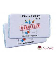 LEAVING CERT CANCELLED CHOCOLATE BARS