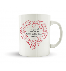 SENTIMENTAL MUG OF LOVE