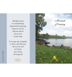 Lakeside Memorial Card