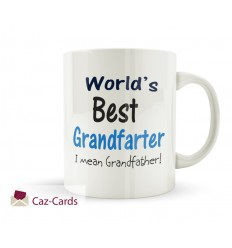 Worlds Best Grandfarter I Mean Grandfather Mug