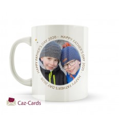 Happy Father's Day Mug With Photo