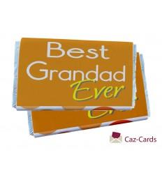 GRANDAD FATHERS DAY CHOCOLATE BARS