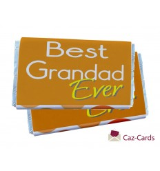 GRANDAD FATHERS DAY CHOCOLATE BARS