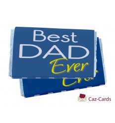 BEST DAD EVER Fathers Day Chocolate Bars