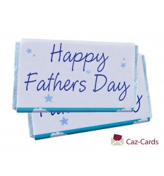 Happy Fathers Day Chocolate Bars