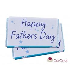 Happy Fathers Day Chocolate Bars