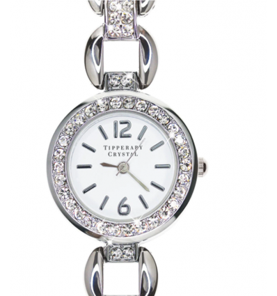 Tipperary Crystal Sky-Era Silver Watch
