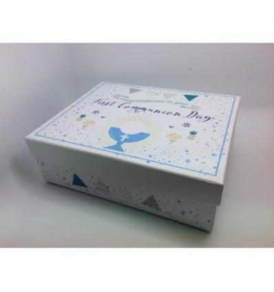 First Holy Communion Keepsake Box blue