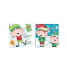 20pk of Kids ELF Christmas Cards