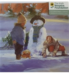 Irish Hospice Foundation - Snowman and children