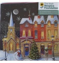 Irish Hospice Foundation - Street snow scene