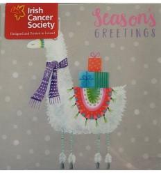 Irish Cancer Society - Llama Seasons Greetings