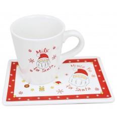Santa Treat Plate & Mug