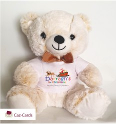 Christmas Personalised Teddy Bear