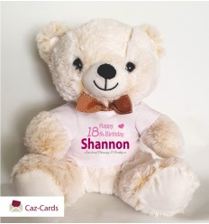 Birthday Girl Teddy Bear Personalised