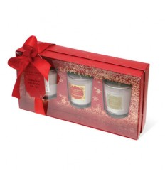 3 Christmas Candle Gift Set