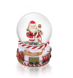 Polar Express Musical Snow Globe