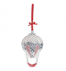 Hot Air Balloon Christmas Tree Decoration - Tipperary Crystal