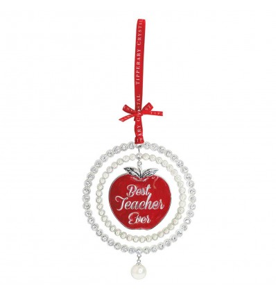 TEACHER Christmas Tree Decoration - Tipperary Crystal
