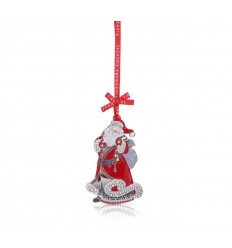 Santa Christmas Tree Decoration - Tipperary Crystal