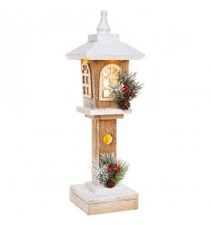 Light-up Wooden Lantern