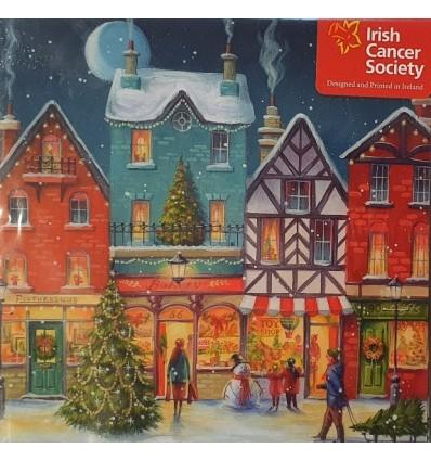 Irish Cancer Society - Winter village scene