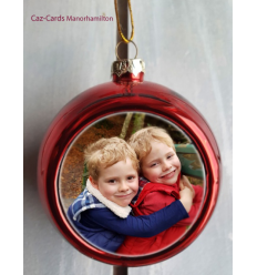 Bauble Personalised Tree Decoration