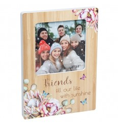 FRIENDS Floral Photo Frame