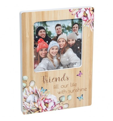 FRIENDS Floral Photo Frame