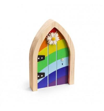 The Irish Fairy Rainbow Door