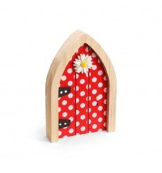 The Irish Fairy Red Polka Dot Door