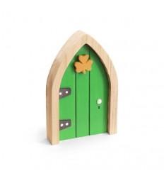 The Irish Fairy Green Shamrock Door