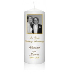 Anniversary Candle with photo